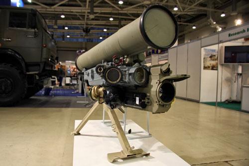 Chiến trường Syria đang có sự hiện diện của nhiều loại khí tài Nga, trong số này phải kể đến tên lửa chống tăng Metis-M1.
