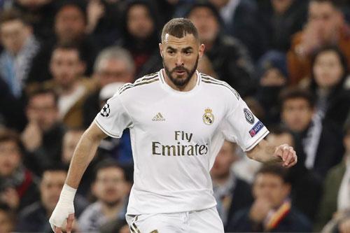 Tiền đạo: Karim Benzema (Real Madrid).