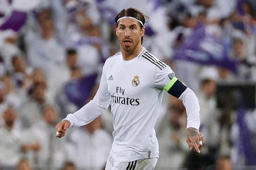 Trung vệ: Sergio Ramos (Real Madrid).