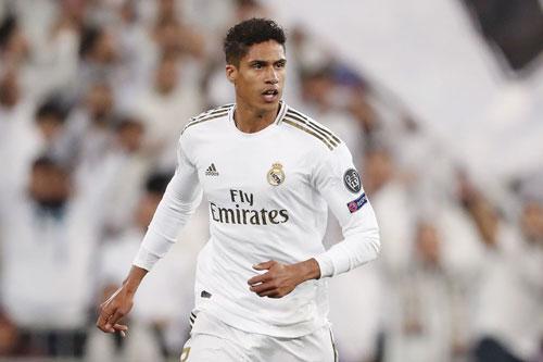 Trung vệ: Raphael Varane (Real Madrid).