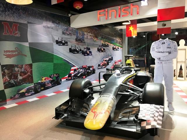 Mô hình trưng bày Showroom Hanoi Circuit Merchandise