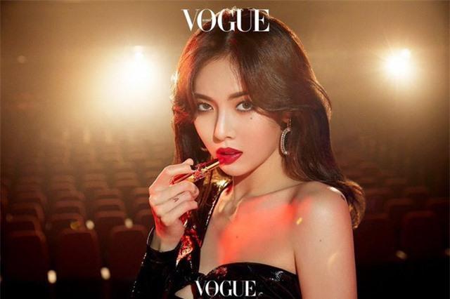HyunA đẹp hút hồn trên Vogue - Ảnh 1.