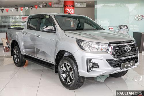 Toyota Hilux (doanh số: 203.523 chiếc).