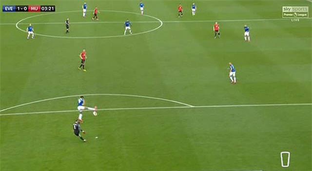 De Gea đã có pha phát bóng tạo điều kiện cho Calvert-Lewin ghi bàn