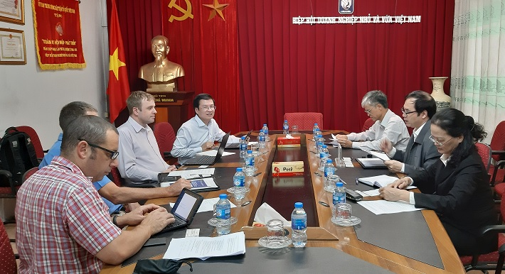 DFAT and VINASME are looking for a more practical cooperation in the coming time. Photo: Minh Nguyet.