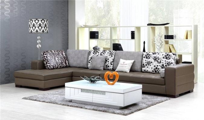Đặt sofa chính ở hướng có thể nhìn bao quát ra bên ngoài