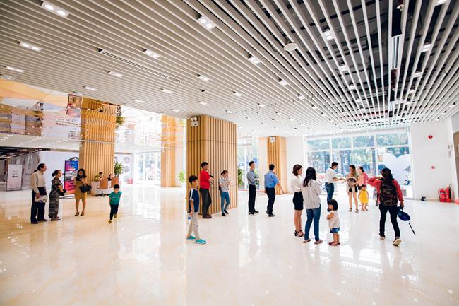Nhiều mặt bằng của Tập đoàn Hưng Thịnh đã giảm giá thuê cho khách hàng trong mùa dịch Covid-19