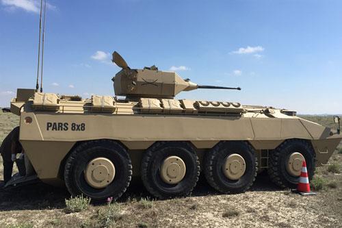 Nền công nghiệp quốc phòng của Thổ Nhĩ Kỳ đạt được những bước tiến rất đáng nể, họ đã chế tạo được nhiều loại vũ khí hiện đại, trong số này phải kể đến biến thể xe bọc thép hiện đại Pars 8x8