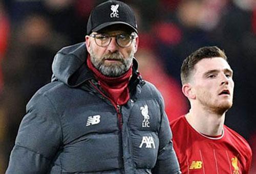 Cỗ máy Liverpool đang gặp chút trục trặc?