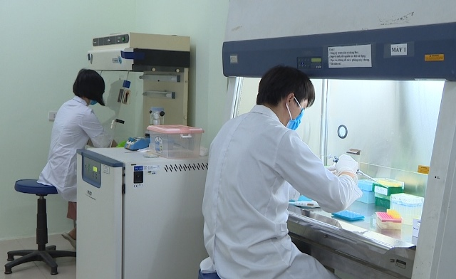 Các nhà khoa học Viện Công nghệ sinh học đã chế tạo thành công bộ KIT chẩn đoán virus Sars-CoV2.