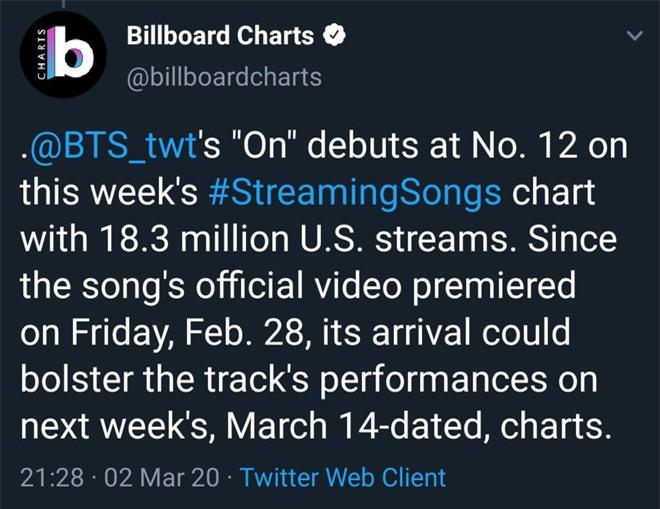 """BTS lần đầu tiên lọt top 5 Billboard Hot 100, lập kỉ lục mới cho nghệ sĩ châu Á nhưng fan lại """"la ó"""" vì nghi tính sai kết quả? - Ảnh 3."""