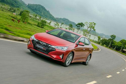 Hyundai Elantra Sport. Ảnh: TC Motor.