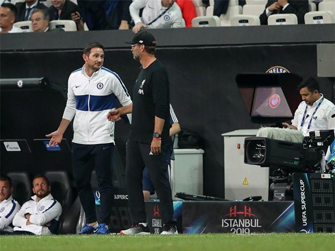 Lampard sẽ đối đầu với Klopp ở trận đấu thuộc vòng 5 FA Cup