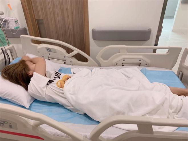 Ngọc Lan bất ngờ nhập viện lúc nửa đêm nhưng chia sẻ của cô với bác sĩ mới làm khán giả dở khóc dở cười  - Ảnh 3.