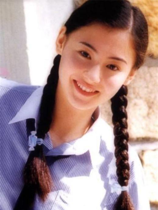 Thập niên những năm 90, Trương Bá Chi sở hữu vẻ đẹp tường thành được mệnh danh là ngọc nữ hàng đầu của Cbiz - Ảnh: Sohu