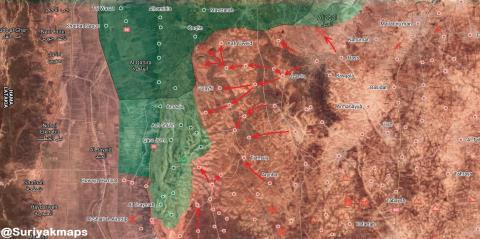 Chỉ chưa đầy tuần, tuyến phòng ngự Nam Idlib bị toang nhanh không tưởng