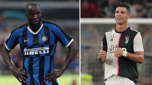 Ronaldo được định giá ngang bằng với Lukaku.