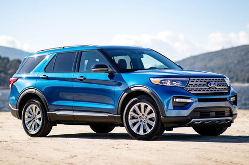 1. Ford Explorer 2020.