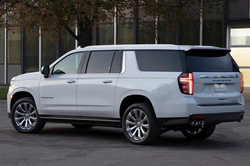10. Chevrolet Suburban 2020.