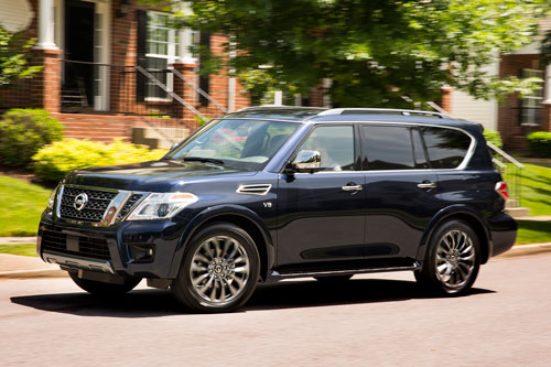 4. Nissan Armada 2020.