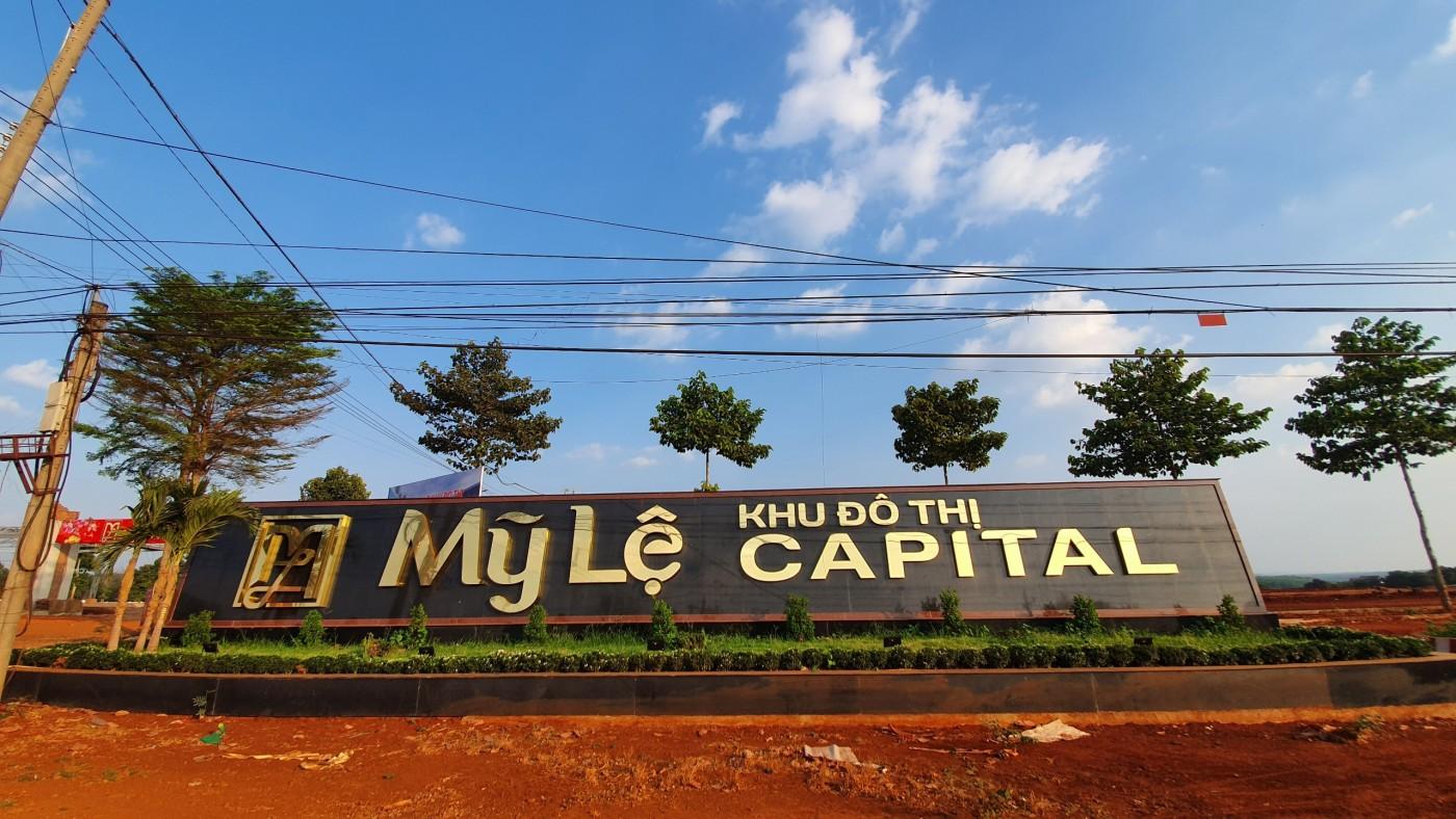 Dự án Mỹ Lệ Capital thuộc xã Long Hưng, huyện Phú Riềng, tỉnh Bình Phước.