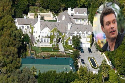 5. Ryan Seacrest góp mặt trong danh sách này với căn biệt thự trị giá 49 tỷ