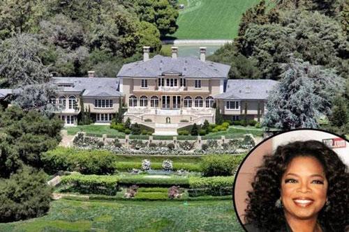 1. Nữ hoàng truyền hình Mỹ Oprah Winfrey dẫn đầu trong danh sách vơi căn hộ thiên đường có giá trị lên đến 90 tỷ