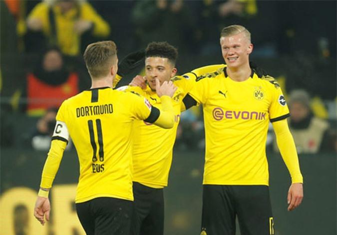 Haalnd ngay lập tức thi đấu thăng hoa trong màu áo Dortmund