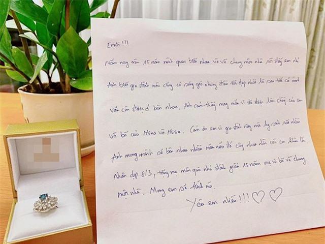 Hồ Hoài Anh tặng Lưu Hương Giang nhẫn kim cương sau ồn ào ly hôn - 1