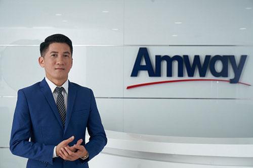 Ông Huỳnh Thiên Triều, Tổng Giám đốc Amway Việt Nam.
