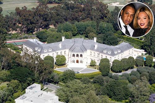 Vợ chồng Beyoncé và Jay - Z không hề kém cạnh khi nắm trong tay căn biệt thự trị giá 88 tỷ
