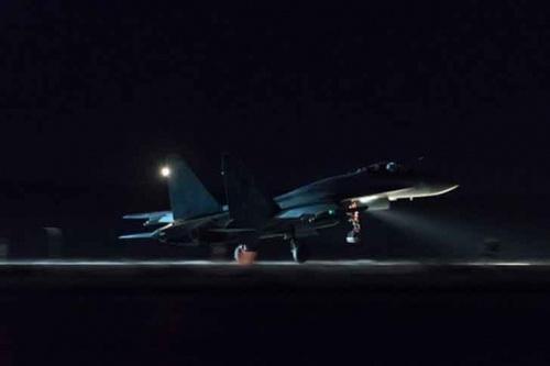 Su-35 Nga được báo cáo đã tiếp tục cất cánh chặn F-16 Thổ Nhĩ Kỳ. Ảnh: Avia.pro.