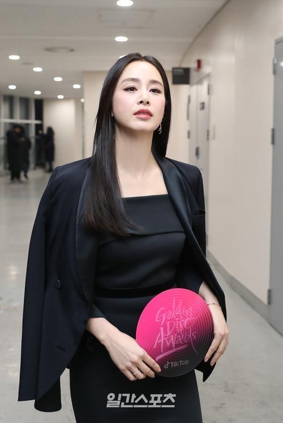 Kim Tae Hee trong sự kiện mới đây - Ảnh: internet