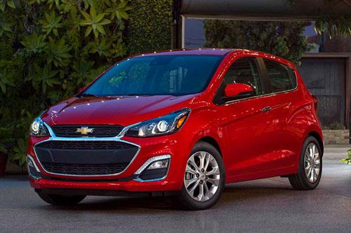 Chevrolet Spark 2020 (giá khởi điểm: 13.220 USD).