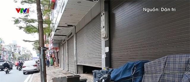 Kinh doanh ế ẩm, hàng loạt cửa hàng ở Hà Nội đóng cửa - Ảnh 1.