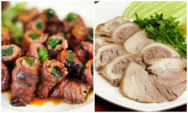Thịt lợn là món ăn ngon được nhiều người ưa chuộng.