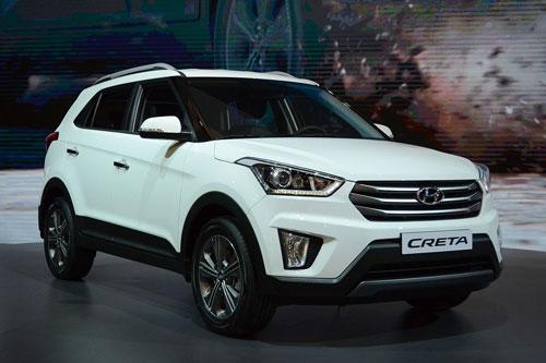 4. Hyundai Creta (doanh số: 6.636 chiếc).