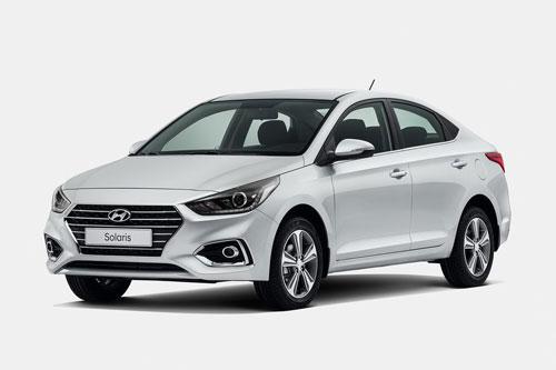 5. Hyundai Solaris - tên gọi khác của Hyundai Accent (doanh số: 4.453 chiếc).