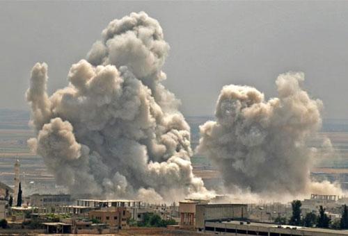 Những ngày gần đây đã chứng kiến nhiều vụ ném bom dữ dội do không quân Syria thực hiện nhằm vào các vị trí đóng quân của binh sĩ Thổ Nhĩ Kỳ gây ra thương vong lớn.