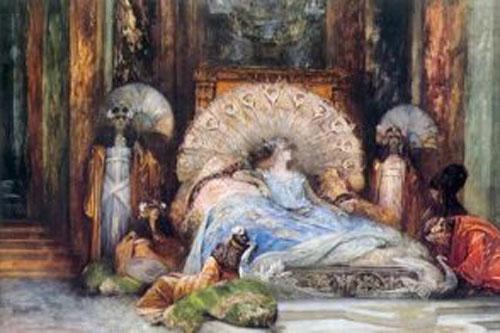 Ảnh minh họa hoàng hậu Theodora.