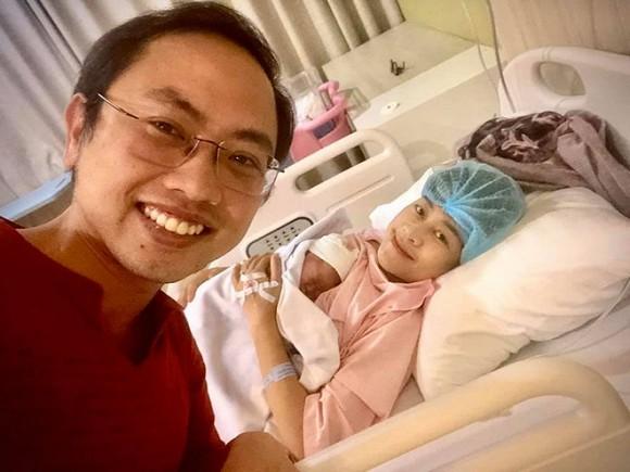 Hình ảnh MC Phí Linh khi vừa mới sinh con.