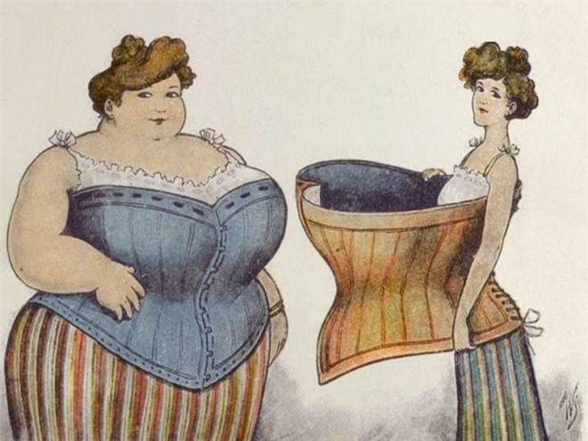 Bạn sẽ ngạc nhiên khi biết chuẩn đẹp của phụ nữ ngày xưa lại... kì dị đến vậy! - 11