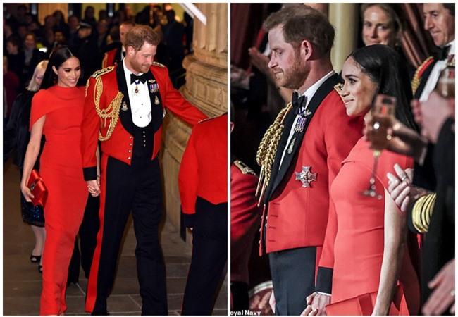 """Meghan Markle tỏa sáng như """"Nữ hoàng"""" trong sự kiện mới nhất nhưng gương mặt buồn bã của Hoàng tử Harry mới đáng chú ý - Ảnh 7."""