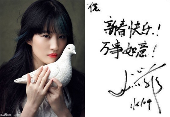 'Soi' chữ viết tay của sao Hoa ngữ: Dương Mịch được khen ngợi hết lời, Phạm Băng Băng bị chê cẩu thả - Ảnh 8