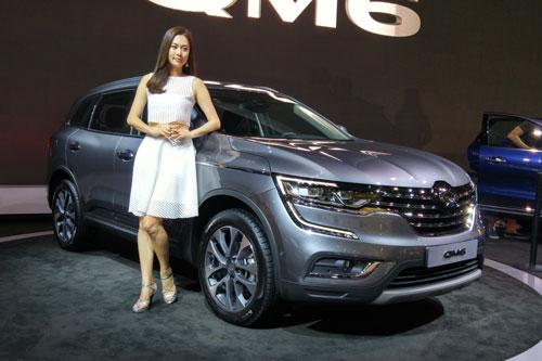10. Renault Samsung QM6 (doanh số: 2.622 chiếc).