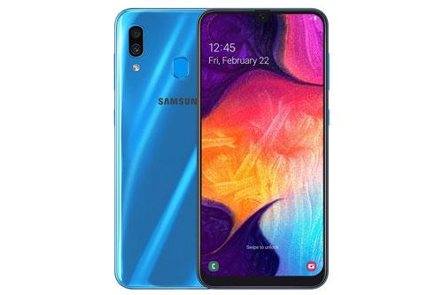 Samsung Galaxy A30. Phiên bản ROM 64 GB từ 5,79 triệu đồng xuống 4,79 triệu đồng. Phiên bản ROM 32 GB từ 4,99 triệu đồng xuống 3,79 triệu đồng.