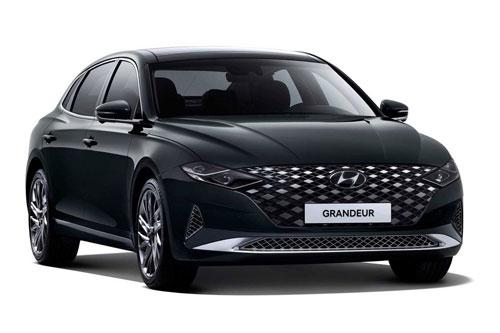 2. Hyundai Grandeur (doanh số: 7.550 chiếc).