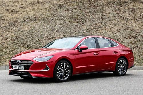 3. Hyundai Sonata (doanh số: 5.022 chiếc).
