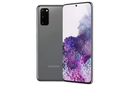 Samsung Galaxy S20 (21,49 triệu đồng xuống 14,49 triệu đồng).