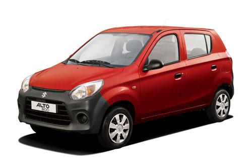 3. Maruti Suzuki Alto (doanh số: 17.921 chiếc).